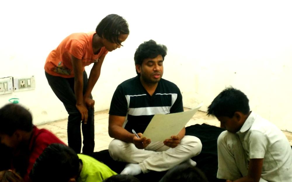 Raj Mahajan - Saturday with Slum Kids